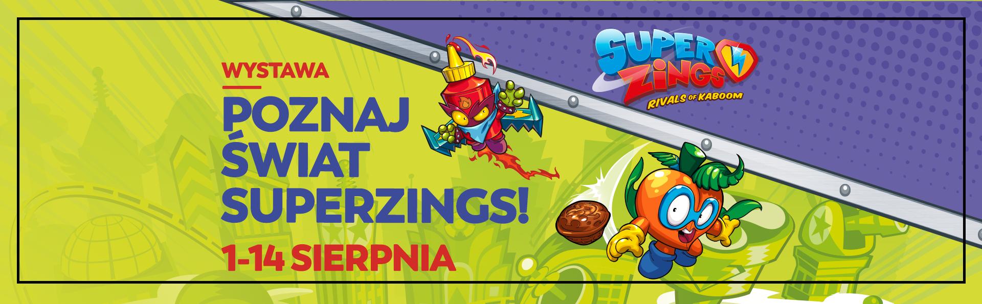 Poznaj świat SuperZings!