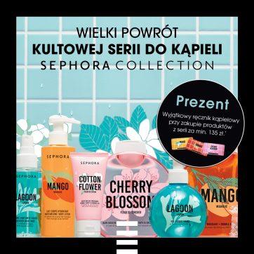 Kultowa kolekcja produktów do kąpieli marki Sephora Collection wróciła!