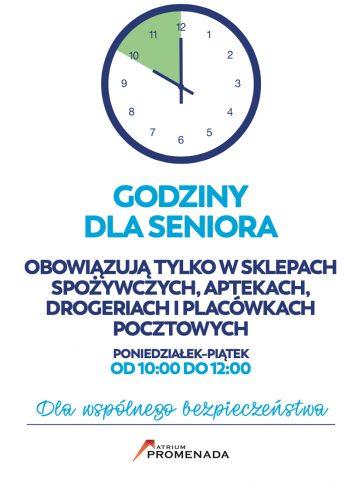 Godziny dla seniora