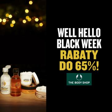 Black Week. Wybrane produkty do 65% taniej!
