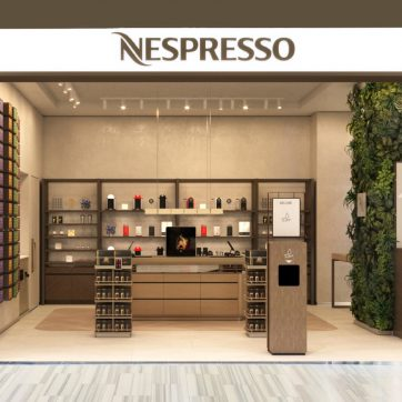 Butik Nespresso w Atrium Promenada otwarty
