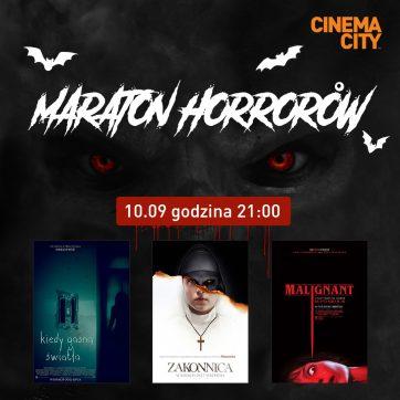 Maraton horrorów w Cinema City