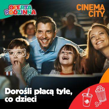 Oferta rodzinna w Cinema City